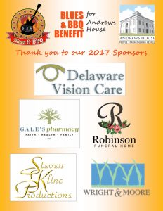 Thank you to our 2017 Blues BBQ Sponsors!